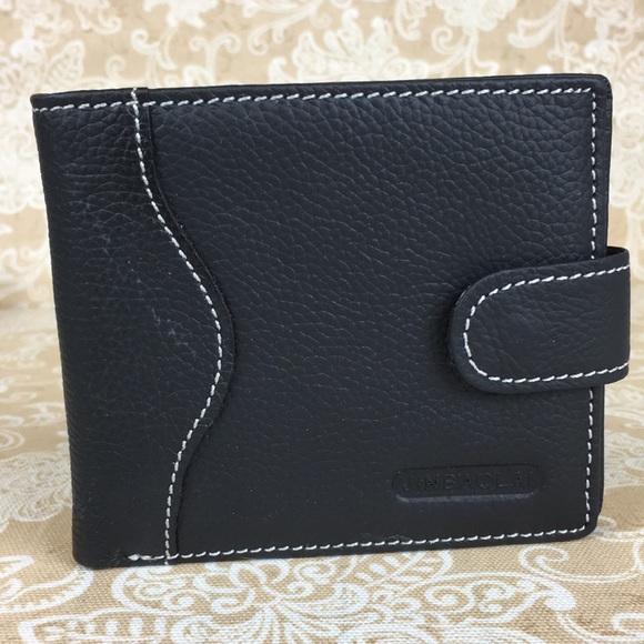 Jinbaola Handbags - Jinnaolai Black Leather Wallet